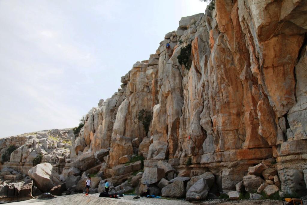 Seeb Al Ghareeb Khasab Rock Climbing Crag