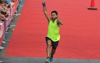 Adel Nehme running