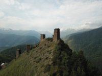 Omalo to Shatili trekking in Georgia